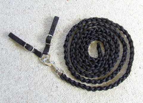 In-hand show lead and adaptar strap